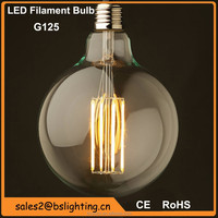 G80 G95 G125 E27 B22 2W 4W 6W 8W 10W 110-220V led filament vintage edison bulb light dimmable