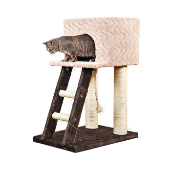Latest cheap factory direct cat scrather tree with stairs