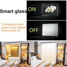 UCEF electrochromic lcd switchable privacy glass dimmable decorative glass for building window