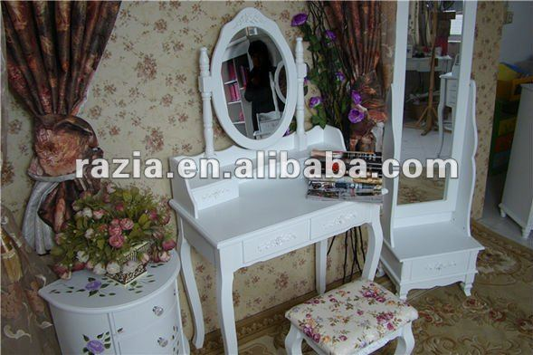 morden wooden Dressing Table with Stool (K008)