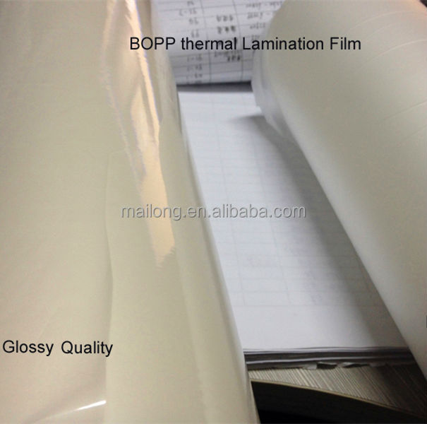 Thermal Pre-coating transparent BOPP Film