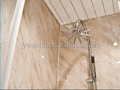 Plastic bathroom wall panels printed high glossy, View Bathroom ...