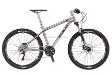 26'' /27.5'' Titanium Alloy Mountain Bike Cheap MTB Bike Cade in China 30 Speed with SRSUNTOUR XCM Hydraulic Fork