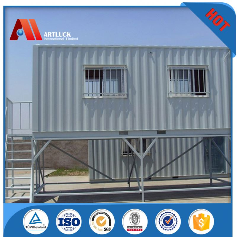 luxury comfortable steel container house for villa