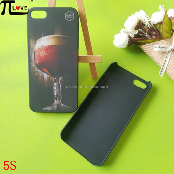 Custom pubs boost spending promotional gifts hard plastic matte black phone case cover for Iphone 5S