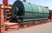 High Quality environmental Pyrolysis Plant Machinery Scrap Tire Recycling Machine