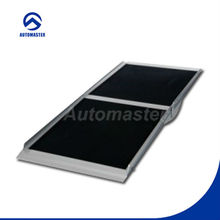 Foldable Aluminium Wheelchair Ramp with Grip Tape