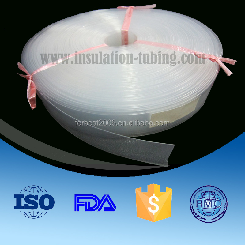 PFA Heat Shrinkable Tube , Transparent Fep Heat Shrinkage Tube