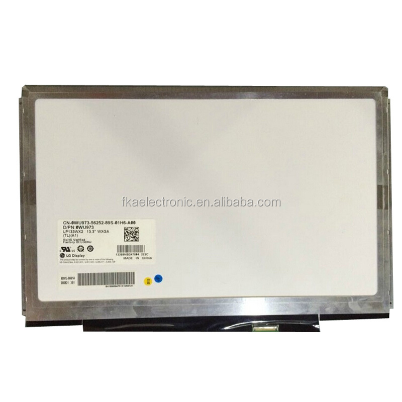 "For Dell Latitude E4300 XPS I3 LCD Screen 13.3"" WXGA LED LCD Screen Display WU973 0WU973 CN-0WU973 LP133WX2-TLA1"