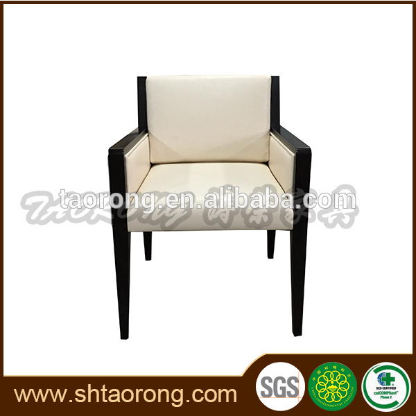 New design wood frame faux leather internet cafe chairs