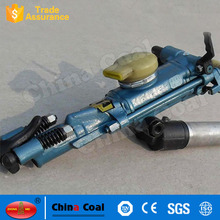 Compressed Air Powered Hand Held Rotary Rock Drilling Machine
