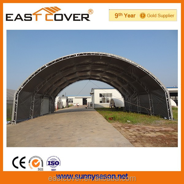 Factory Price 2014 pvc big outdoor warehouse canopy