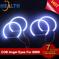 Xenon White 131mm Wholesale COB LED Angel Eyes for BMW E46 Facefit