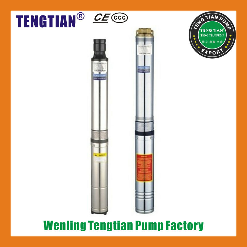 100QJ2 series deep well borehole vacuum erection penis pump