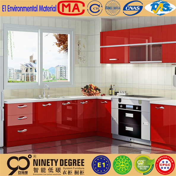 aluminum alloy retro style kitchen cabinet