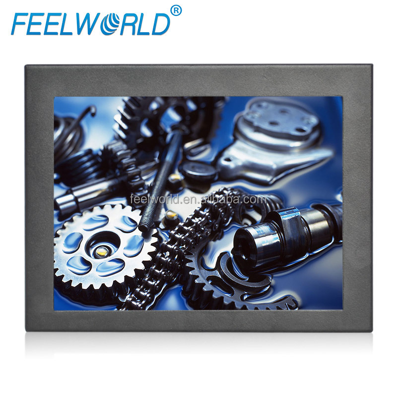 FEELWORLD 8 inch Touch screen IPS pannel POS POP shop mall open frame monitor for advertising use