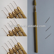 wig making needle,ventilating needles for lace wigs