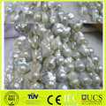 Hot sale good quality big baroque pearl necklace