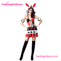 Rabbit animal costume sexy movie with women lingerie sexy hot