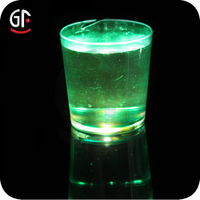 Hot Sale Color Chang Led Flashing Plastic Drinking Glass With Fast Delivery
