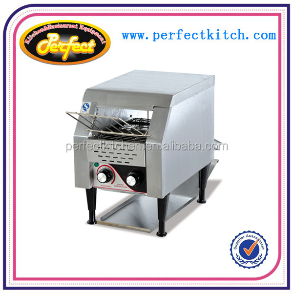 Commercial electric bread convey toaster for braeakfast shop