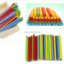 Wholesale Wooden Counting Number Wooden Toys Math Arithmetic Learning Sticks