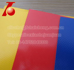 Polyester bag material/pvc coated bag fabric