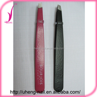 Wholesale products high quality slanted eyebrow tweezers