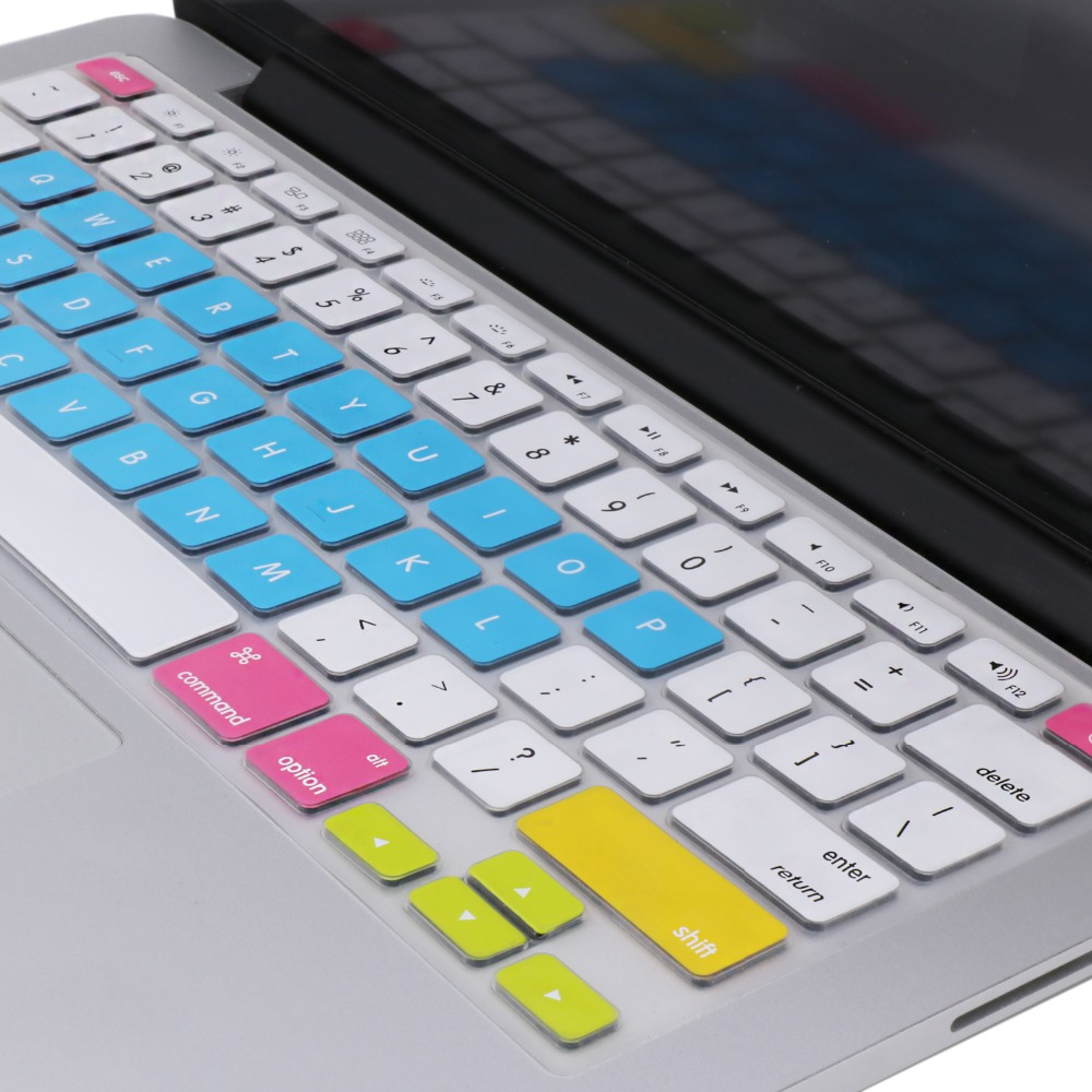 Candy Colorful Keyboard Cover for Macbook Pro Retina 13 15 inch