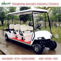 Strong Electric 8 seater Street Legal Golf Cart,8 passenger electric golf cart,used golf buggy with CE