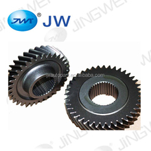 Cylindrical helical gears gearbox auto parts vehicle parts crown wheel and pinion gears for pick up