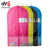 With net pocket non woven dress cover garment bag