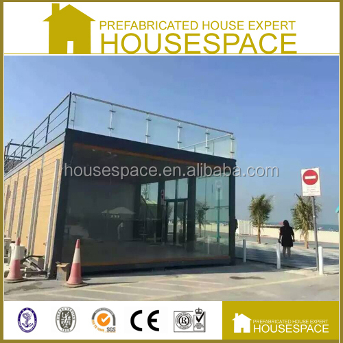 Flat-pack Bright Long Life container house boat
