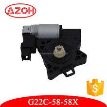 Good performance 12V DC electric power window motor G22C-58-58X for Mazda 3 M5 M6 CX-5 2002-