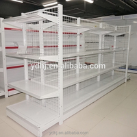 Wire Mesh Shelving For Supermarket Or Retails Store From Suzhou YUAN DA Factory