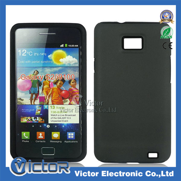 Direct buy China Korea fashion design mobile phone accessories for Samsung Galaxy S2 i9100 PC silicon combo case