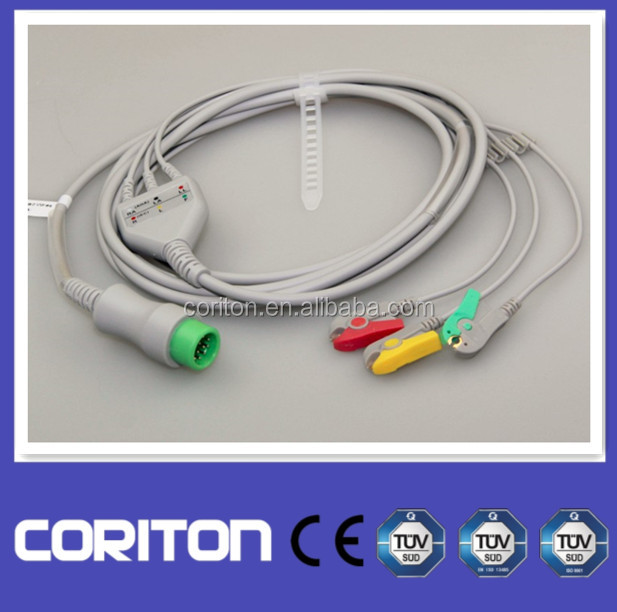 Mindray ECG Cable 0010-30-42719 for T5/PM6000