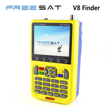 Genuine Freesat V8 finder HD DVB-S2 Satellite Finder MPEG-4 Satellite Meter