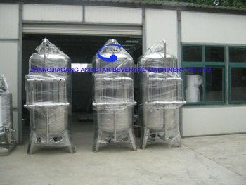 Complete water treatment system with ultrafilter