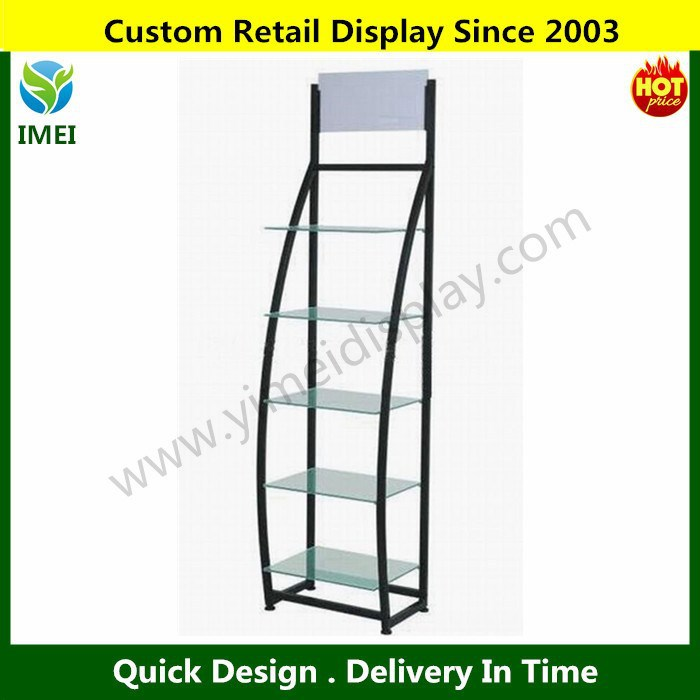 Customize Promotion Food Metal supermarket display stand