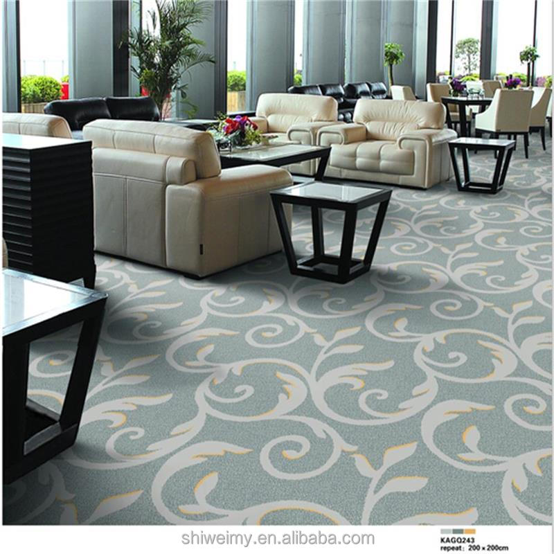 Hot sales 80% Wool 20% Nylon Axminster banquet hall Carpet