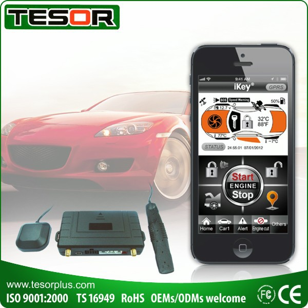 Smartphone Remote Control Tracking Gps Buy Gsm Car Alarm