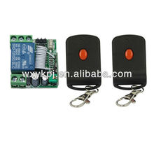 12v single channel rf remote control light switch