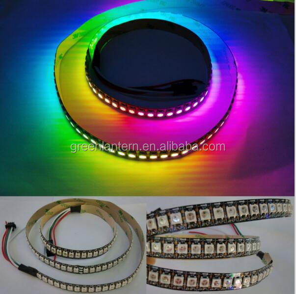 Controllable Led Strip SK6812 IC 144Leds / Pixels DC5V Every Leds Individually Cuttable