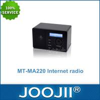 Worldwide FM MP3 WMA AAC FLAC Wifi Radio Receiver Internet Radio, Support WiFi Connection 802.11b/g/n