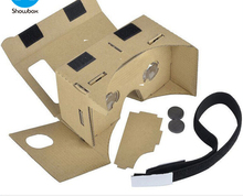 2017 New Design 3D Cardboard VR Glasses VR Headset for Promotional vr box