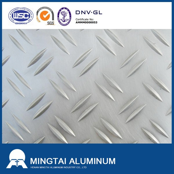 2mm thick aluminum checkered plate sheet 1050