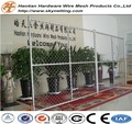 hot dipped galvanized chain link temporary fence pipe frame american temporary fence