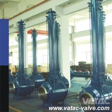 Extended Stem Underground Full Weld Ball Valve for Low Temperature