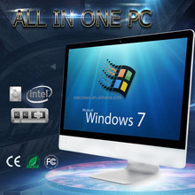 "Wholesale gaming pc 21.5"" with win7 win8 win10 Linux All in one Computer I3 4170 3.7GHz"